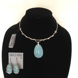 Robert Lee Morris necklace and earring set